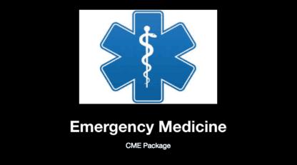 Emergency Medicine EOR Blueprint, Emergency Medicine CME, Emergency Medicine CME Package, CME with Gift Card, PANCE, PANRE, USMLE, PANCE Review Course, PANRE Review Course, Nurse Practitioner, Physician Assistant